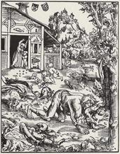Lucas Cranach-Werwolf